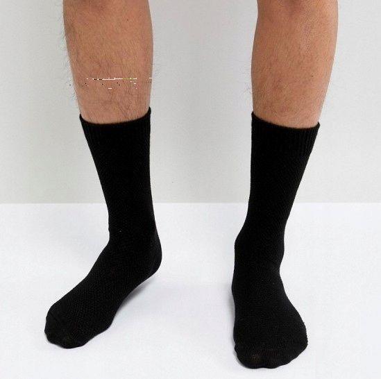 Socken lange schwarze