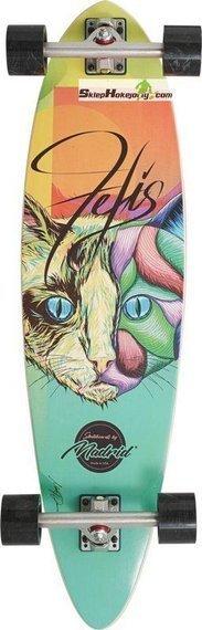 Madrid Felis Cat Kompletny Longboard