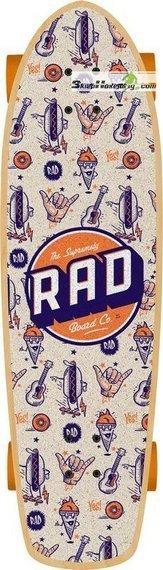 RAD Retro Roller Cruiser Board
